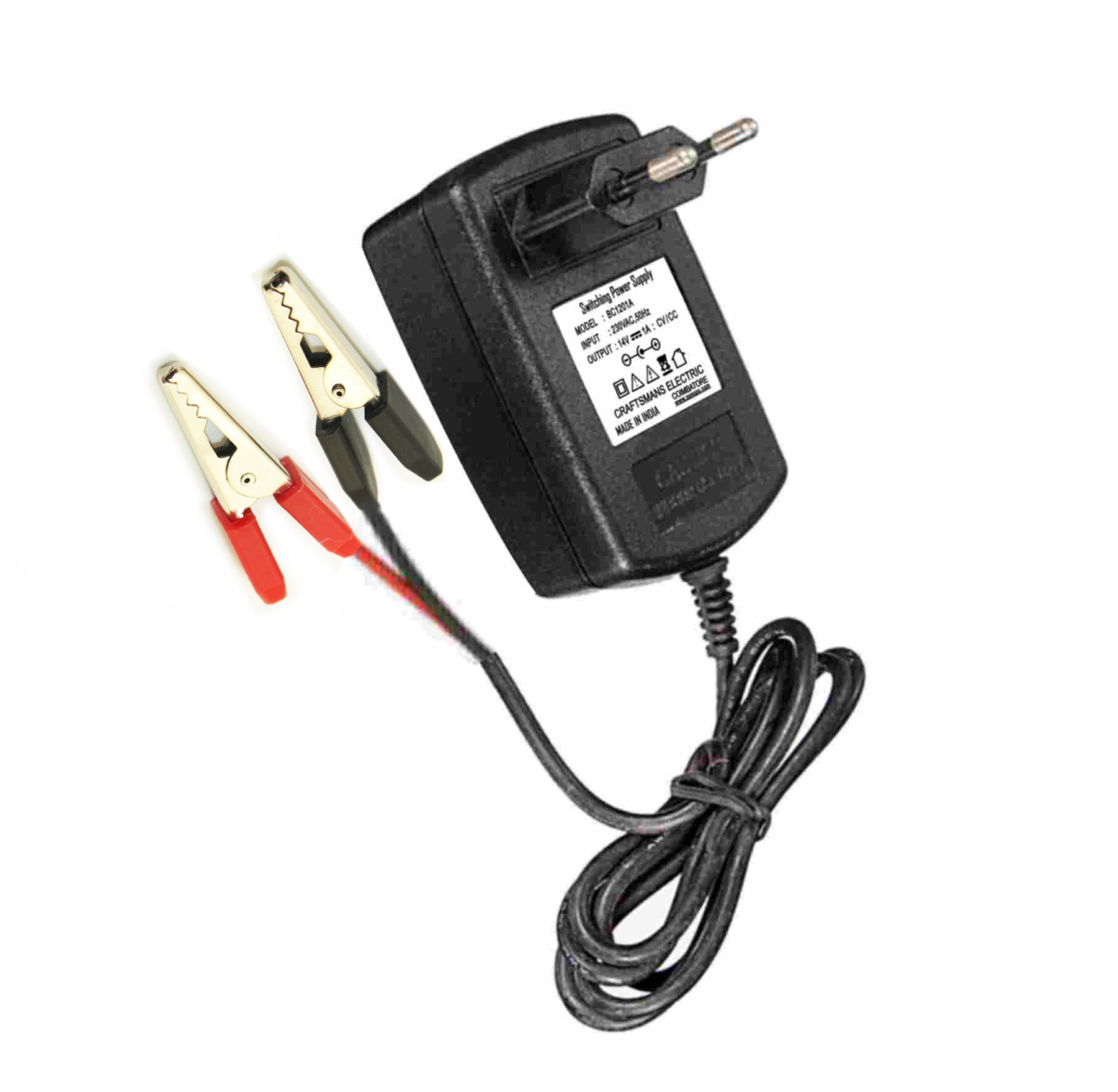 SMPS Battery Charger – 12V,1A   Craftsmans Electric